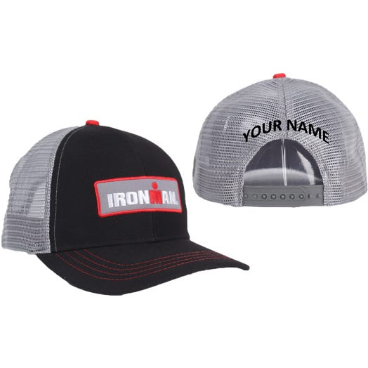 IRONMAN Personalized Technical Trucker Hat