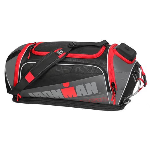 IRONMAN Ogio 8.0 Duffle Bag - Black/Grey