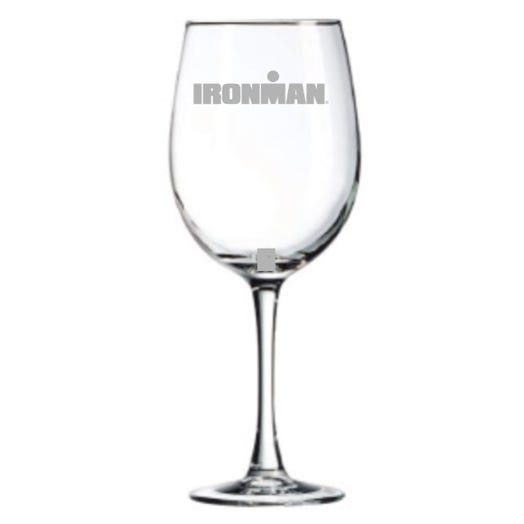 IRONMAN Personalized Wine Glass
