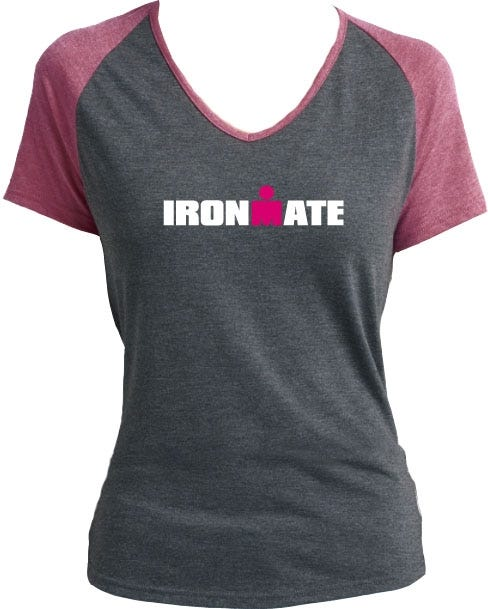 IRONMAN 'IRONMATE' Support Crew Tee