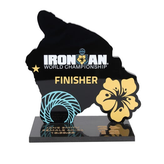 2019 IRONMAN World Championship Trophy
