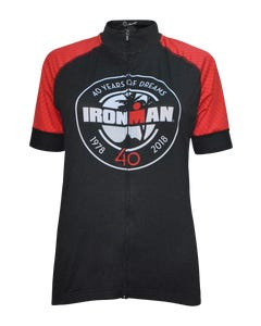 IRONMAN Women's 40TH Anniversary Badge Cycle Jersey