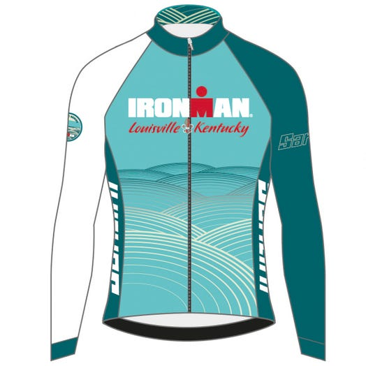 IRONMAN LOUISIVLLE 2019 WOMEN'S LONG SLEEVE FINISHER COURSE CYCLE JERSEY