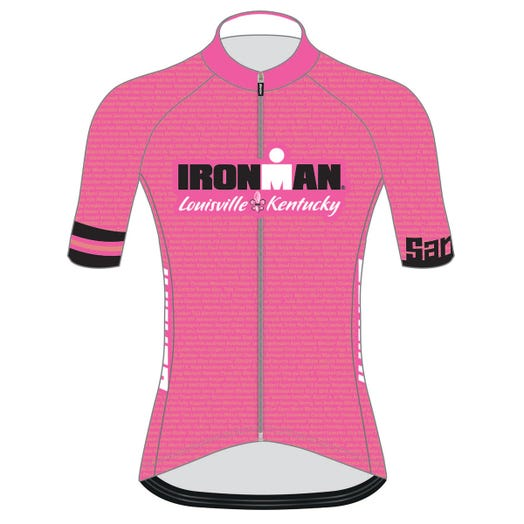 IRONMAN LOUISVILLE 2019 WOMEN'S NAME CYCLE JERSEY