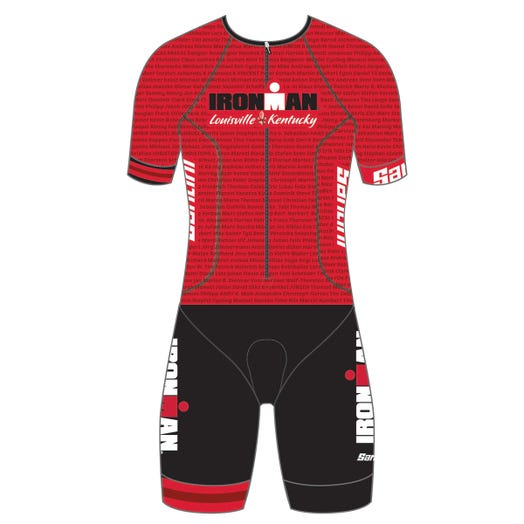 IRONMAN LOUISIVLLE 2019 MEN'S NAME TRI SUIT