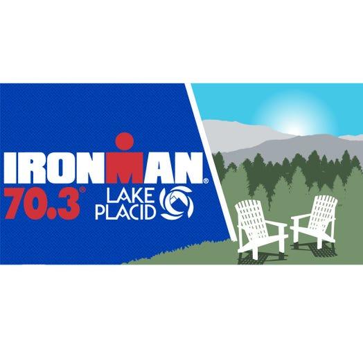 IRONMAN 70.3 Lake Placid 2019 Event Beach Towel