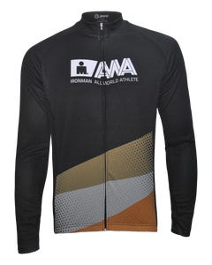 IRONMAN Men's All World Athlete Cycle Long Sleeve - Black