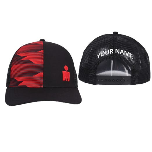 IRONMAN M-DOT Personalized Technical Trucker Hat