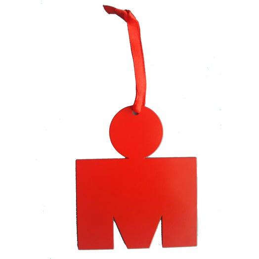 IRONMAN M-DOT Dangler