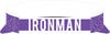 IRONMAN Signature Visor-Purple