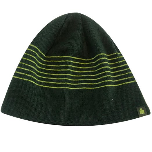 IRONMAN MDOT STRIPES BEANIE GREEN