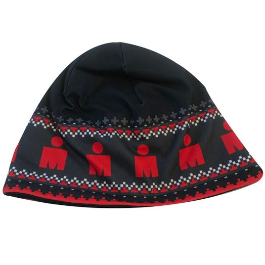 IRONMAN MDOT SWEATER BEANIE BLACK