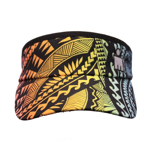 IRONMAN MDOT Tribal Rainbow Visor