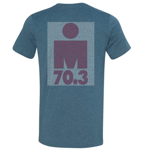IRONMAN 70.3 MAINE 2019 MEN'S NAME TEE