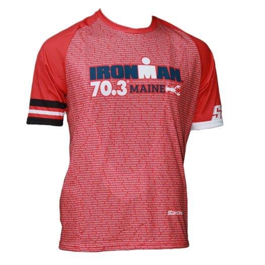 IRONMAN 70.3 MAINE 2019 MEN'S PERFORMANCE NAME TEE