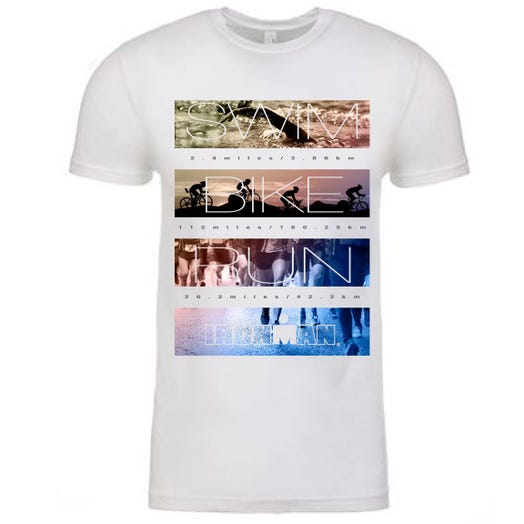 IRONMAN Men's Photo Reel Tee - White
