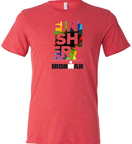 IRONMAN Men's Finisher Tee - Red