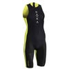 IRONMAN ROKA Men's Viper Pro Swimskin-Black/Acid Lime