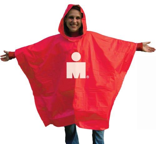IRONMAN M-Dot Rain Poncho