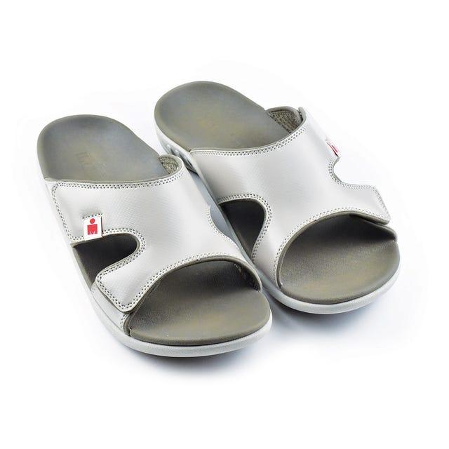 IRONMAN Men's HOASlide Sandals - Walnut with Grey