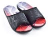 IRONMAN Men's KUMUSlide Sandals - Carbon with Rosso