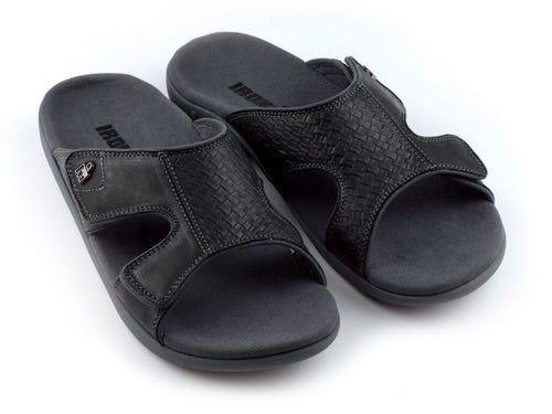 IRONMAN Men's 'OHANA Slide Sandals - Black