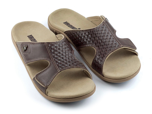 IRONMAN Men's 'OHANA Slide Sandals - Coffee
