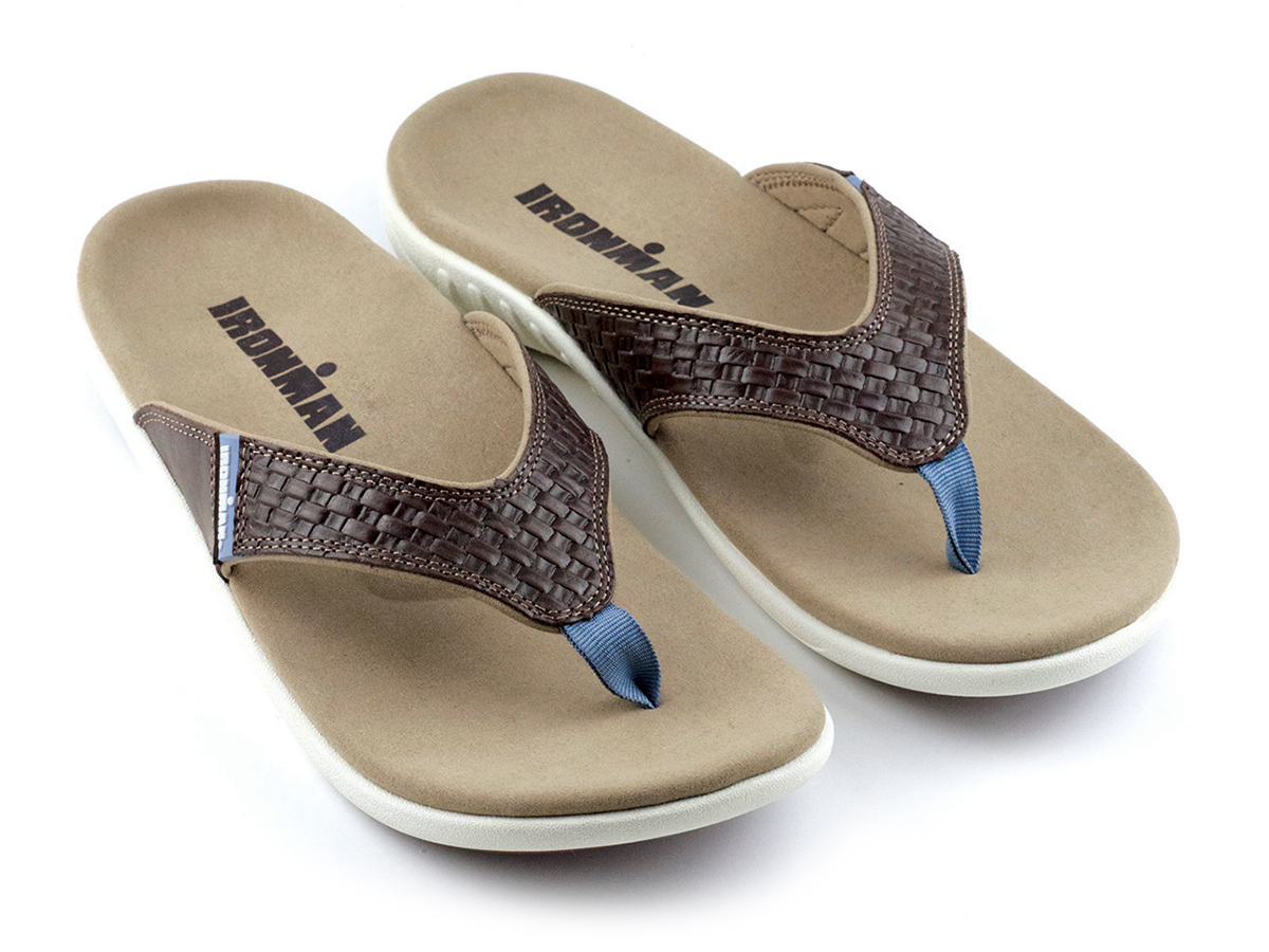 IRONMAN Men's 'OHANA Sandals - Coffee