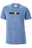 IRONMAN Men's Snow Yarn Logo Tee