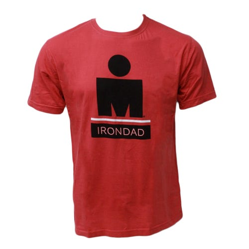IRONMAN MEN'S IRONDAD TEE-Red