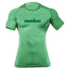 IRONMAN MEN'S SPELLOUT BODY MAPPING SHORT SLEEVE TECH GREEN