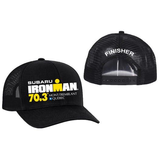 IRONMAN 70.3 Mont-Tremblant Finisher Custom Event Trucker Hat