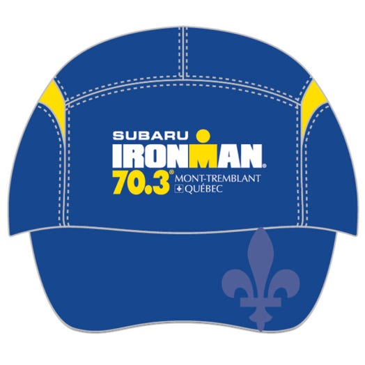 IRONMAN 70.3 MONT-TREMBLANT EVENT TECH HAT - BLUE