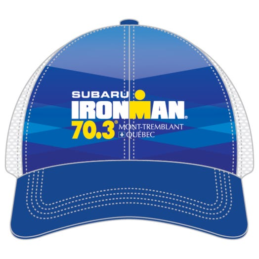IRONMAN 70.3 MONT-TREMBLANT EVENT TRUCKER - BLUE