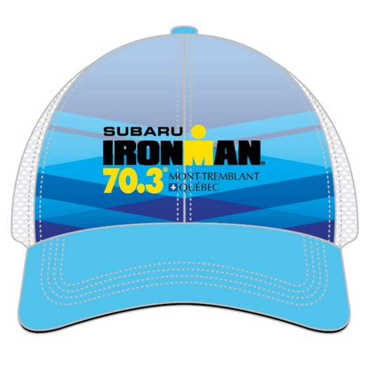 IRONMAN 70.3 MONT-TREMBLANT EVENT TRUCKER - LIGHT BLUE