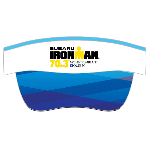 IRONMAN 70.3 MONT-TREMBLANT EVENT VISOR - WHITE