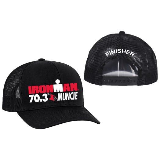 IRONMAN 70.3 Muncie Finisher Custom Event Trucker Hat