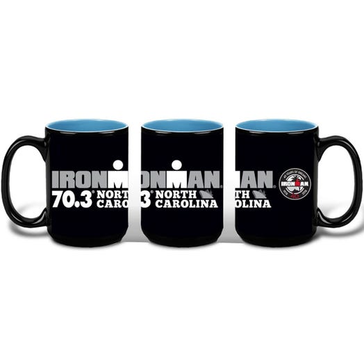 IRONMAN 70.3 NORTH CAROLINA EVENT COFFEE MUG