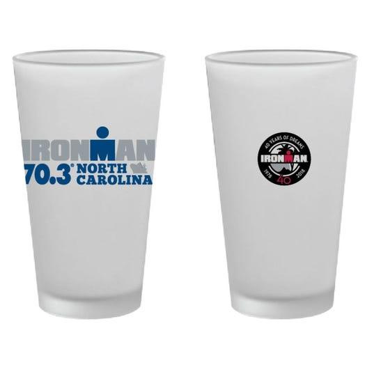 IRONMAN 70.3 NORTH CAROLINA EVENT PINT GLASS
