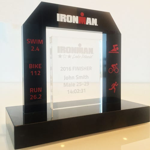 IRONMAN Finish Line Trophy