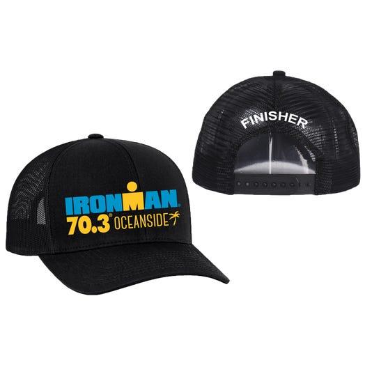 IRONMAN 70.3 Oceanside Finisher Custom Event Trucker Hat
