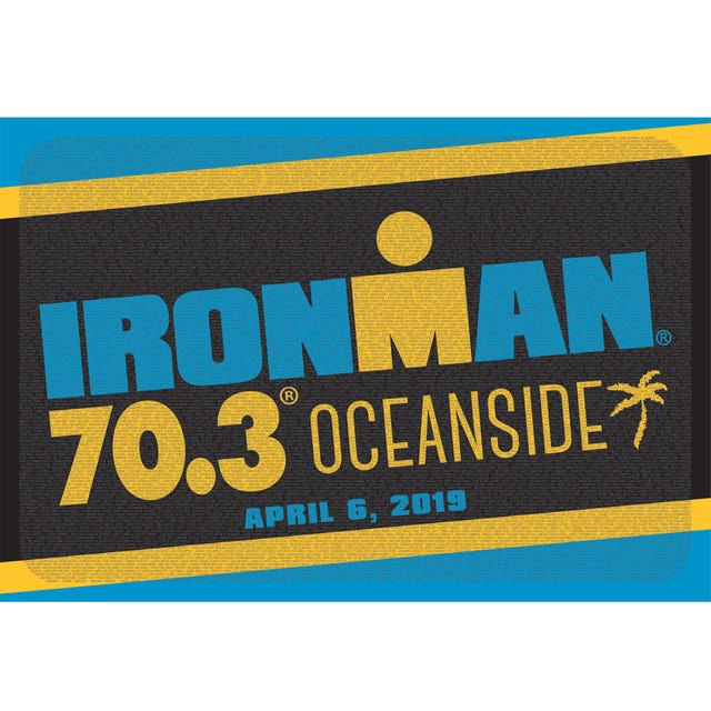 IRONMAN 70.3 Oceanside 2019 Event Name Shammy
