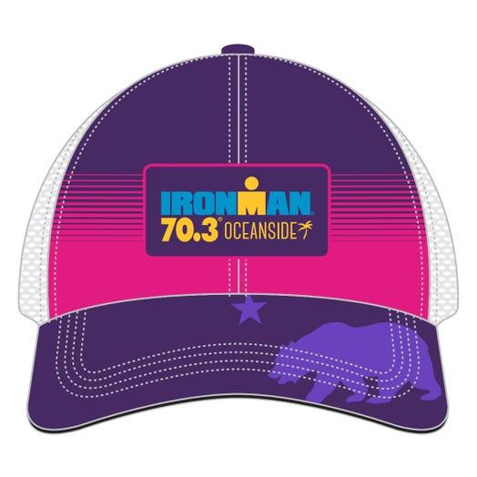 IRONMAN 70.3 OCEANSIDE EVENT TRUCKER HAT