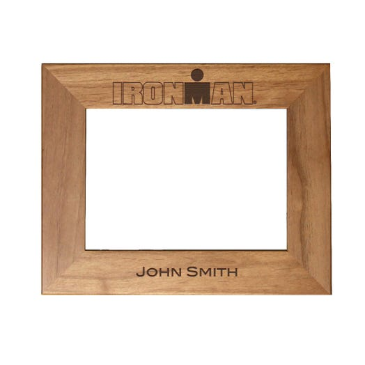 IRONMAN Personalized Photo Frame - Red Alder