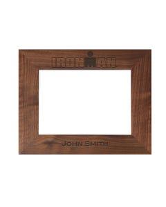 IRONMAN Personalized Photo Frame - Walnut