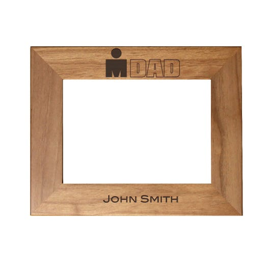 IRONDAD Personalized Photo Frame - Red Alder