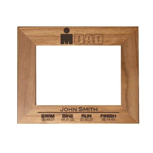 IRONDAD Finisher Personalized Photo Frame - Red Alder