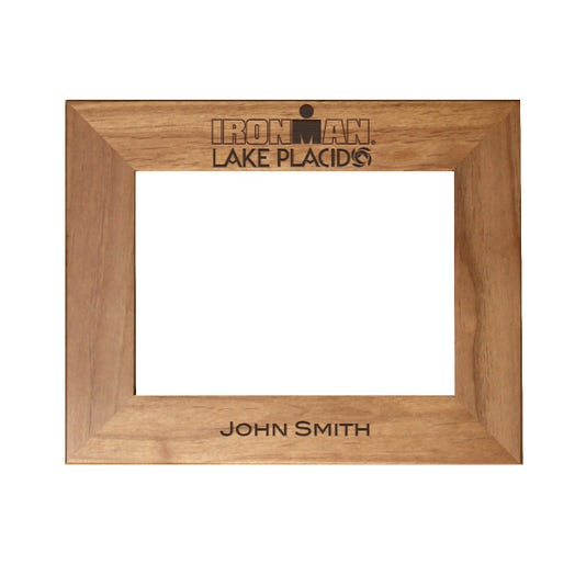 IRONMAN Event Personalized Photo Frame - Red Alder