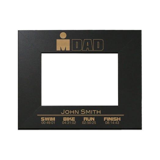 IRONDAD Finisher Personalized Photo Frame - Black