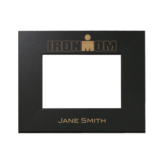 IRONMOM Personalized Photo Frame - Black